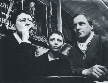 Guy Debord, Michele Bernstein and Asger Jorn of the Situationist International, 1960. All that was once directly lived has become mere representation. Courtesy: Verso.
