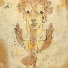 Paul Klee [1920] Angelus Novus. Oil transfer and watercolor on paper, 31.8 × 24.2 cm.