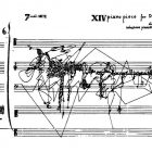 Sylvano Bussoti [1980] XIV piano piece for David Tudor 4. In A Thousand Plateaus: Capitalism and Schizophrenia. New York: Continuum, p.3.