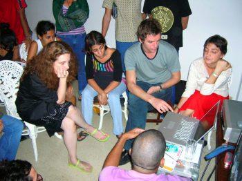 Tania Bruguera & Anri Sala [2005] Cátedra Arte de Conducta (Behavior Art School), Havana, Cuba.