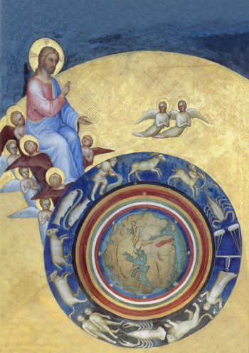 Giusto de Menabuoi [1375-76] The creation of the world. Fresco. Padua Baptistery, Piazza del Duomo, Padua.