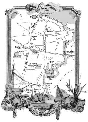 [ARTCRAWL]#15 Deptford MAP