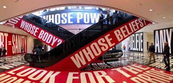 Barbara Kruger Belief+Doubt