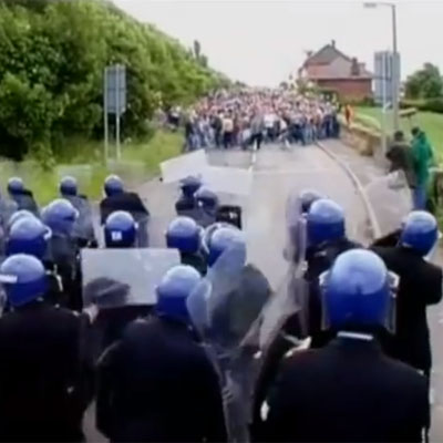 Jeremy Deller and Mike Figgis [2001] The Battle of Orgreave